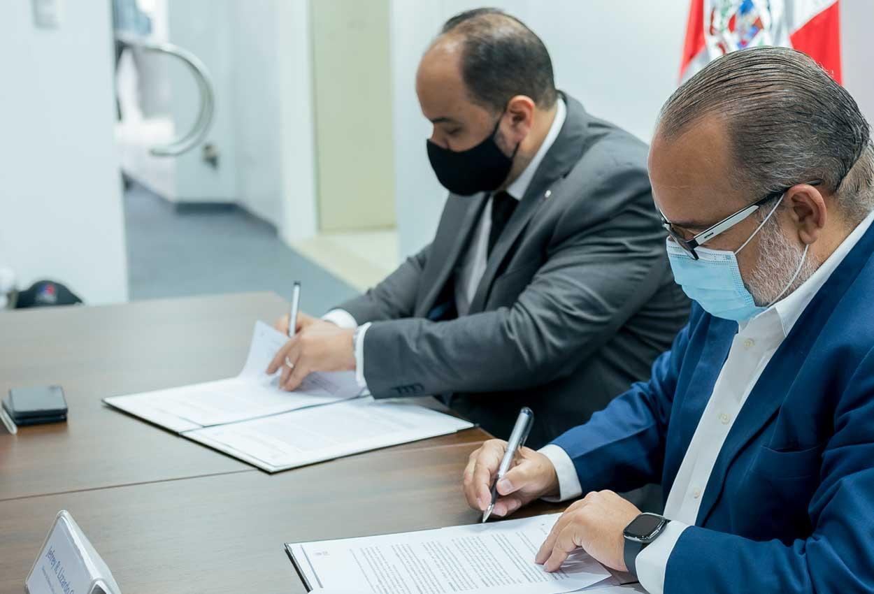 Defensor del Pueblo y SIUBEN firman acuerdo de colaboración para ayudar a familias vulnerables