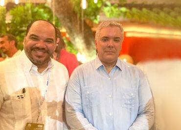 Defensor del Pueblo trata con presidente Colombia sobre migración y seguridad